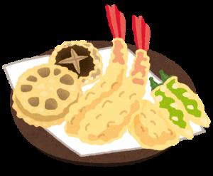 天ぷら イラスト