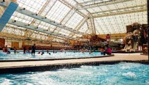 東京サマーランド 屋内プール