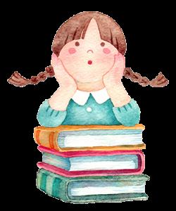 女の子 本