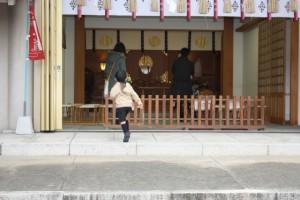 神社 お宮参り