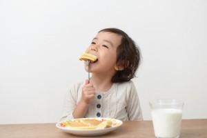 子ども ホットケーキ