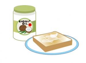 ココナッツオイル パン