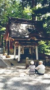 老夫婦 神社