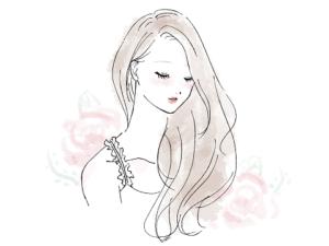女性 美容 イラスト