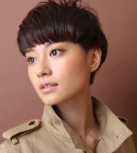 女性 ベリーショート 髪型