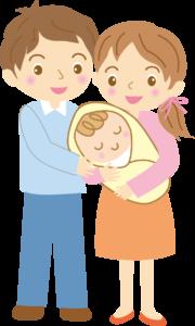 夫婦 赤ちゃん イラスト