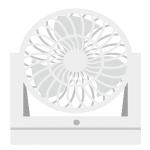 サーキュレーターで暖房効果を高める使い方や置き方!位置・向き。