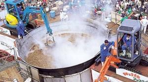 芋煮会 大鍋