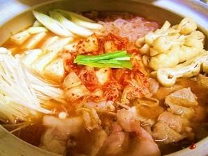 キムチ鍋 ピリ辛スープ