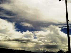 雲 空 気圧