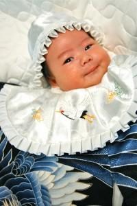 赤ちゃん 祝い着