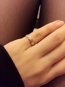 指輪 小指