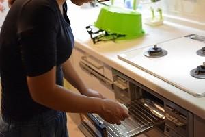 台所 魚焼きグリル 主婦