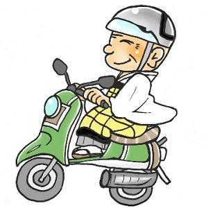 バイク お坊さん