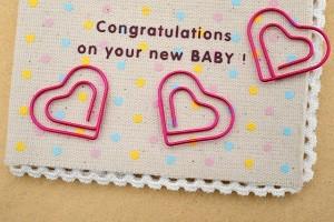 赤ちゃん誕生祝い メッセージ ハート