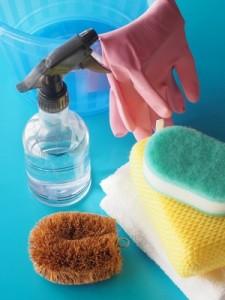 掃除 ゴム手袋 たわし