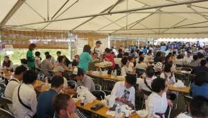 日本一の芋煮会フェスティバル 芋煮茶屋