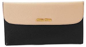 miu miu 長財布