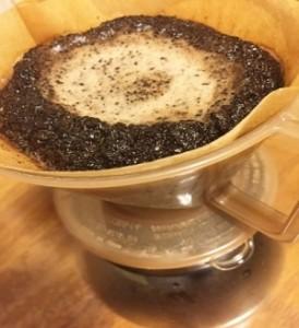 コーヒー 出がらし