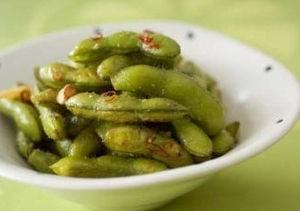 枝豆 ペペロンチーノ