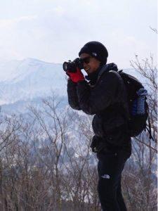 登山 男性 服装 冬 黒系
