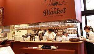 カフェ・ブランケット 店内