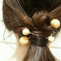 まとめ髪 アイテム