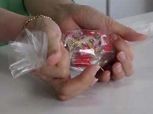 キャンディ 包む