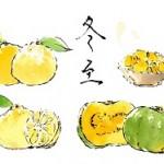 冬至 かぼちゃ 柚子