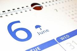 6月 カレンダー