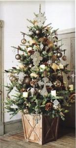 クリスマスツリー ナチュラル