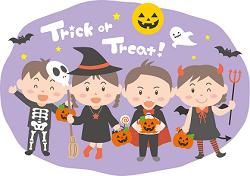 ハロウィン Trick or Treat