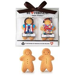 Nippon 47Cookies 人形の形