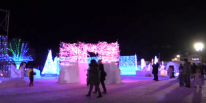 十和田湖冬物語 イルミネーション