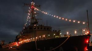 江の島イルミネーション えのしま 艦船 ライトアップ