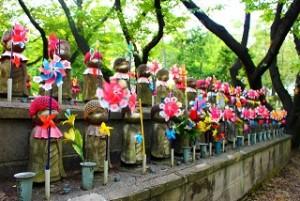 増上寺 地蔵 風車