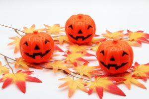 ハロウィン かぼちゃ もみじ