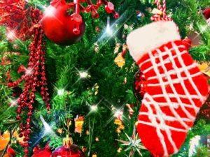 クリスマスツリー 靴下 キラキラ