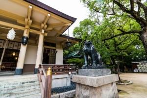 湊川神社 狛犬