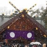 北海道神宮の初詣2019。混雑具合や屋台の営業時間は?