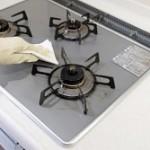 ガスコンロの掃除方法。重曹やセスキで簡単に楽に落とす裏技。