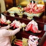 雛人形の飾り方が関東と関西で違う理由は?関東雛・京雛並べ方。