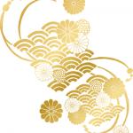 花 扇 金