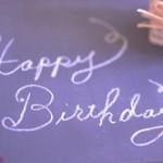 Happy Birthday 文字