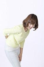 ぎっくり腰 女性