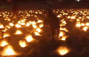横手 雪まつり 灯火