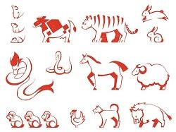 十二支 動物 イラスト
