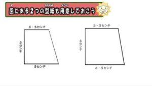 用意する型紙の形式