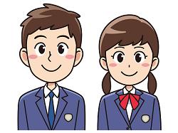 中学生 制服 男女