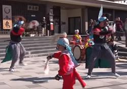 藤原祭り 太鼓